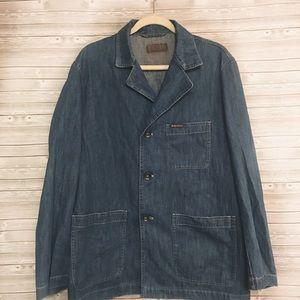 Vintage Marlboro Classics Blue Jean Utility Jacket